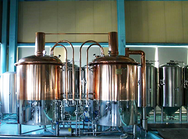 500L copper beer equipment