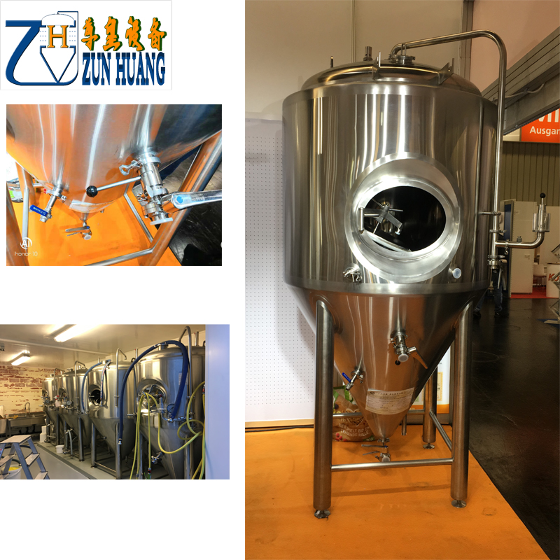 1000L stainless steel beer fermenter tank